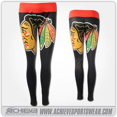 blackhawks leggings