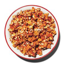 Why this spicy caramel popcorn didn't already exist, we have no idea.