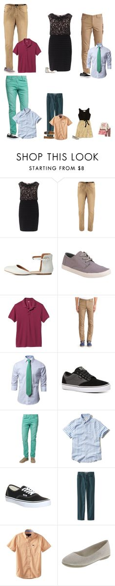 """""""Engagement Party -Smiths"""" by our-poly-friends ❤ liked on Polyvore featuring Adrianna Papell, Scotch & Soda, Charlotte Russe, TOMS, Old Navy, Theory, Vans, Hollister Co., Wes & Willy and J.Crew"""