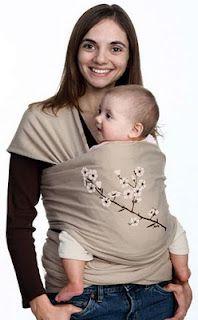 DIY baby wrap.
