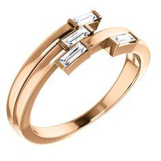 Diamond Cluster Ring, Halo Diamond, Diamond Rings, Diamond Jewelry, Gemstone Rings, 4 Diamonds, Dress Rings, Baguette Diamond, Modern Jewelry