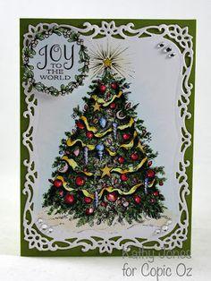 Inspired to Stamp: O Christmas Tree
