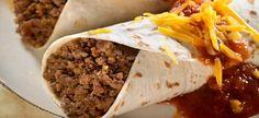 Burrito με κιμά κεμπάπ
