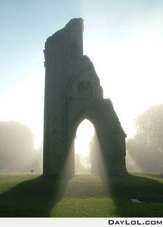 Glastonbury, England- The final resting place of King Arthur