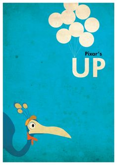 #Disney #Pixar - UP Movie Poster