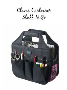 Clever Container Stuff N Go - The perfect way to organize your hand lettering supplies.