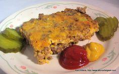 """Atkins Diet Recipes: Low Carb """"Big Mac"""" Pie (IF)"""
