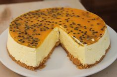 passion fruit cheesecake  - Costa Rica