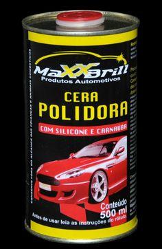 #MaxxBrill #Produtos #Automotivos #Cera #Polidora #Silicone #Carnauba #Carros #Automóveis #MaxxPolidores #Polimento