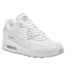 Nike Air Max 90 Pearl Pack (w) White Metallic Silver - Hers trainers