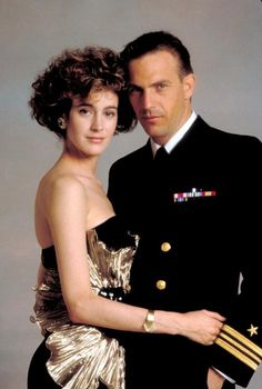 """Sean Young and a very """"young"""" Kevin Costner in No Way Out"""