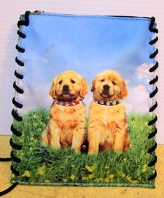 Vintage purse bag Golden Lab dogs unique gift, free shipping #Sideeffectsny