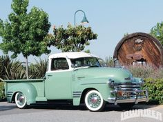 1949 Chevrolet 3100 Pick Up Passenger Side Profile