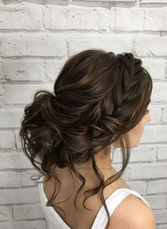 Hairstyle Inspiration - Elstile Featured Hairstyle: Elstile Wedding Hairstyles and Makeup;Featured Hairstyle: Elstile Wedding Hairstyles and Makeup; Wedding Hairstyles Half Up Half Down, Wedding Hairstyles With Veil, Homecoming Hairstyles, Brunette Wedding Hairstyles, Bridal Hairstyle, Hairstyles 2018, Bridal Hair With Veil Updo, Hairstyle Ideas, Quinceanera Hairstyles