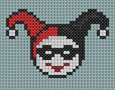 Harley Quinn Cross Stitch by ~drsparc on deviantART