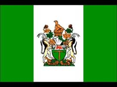 Zimbabwe was formerly known as Rhodesia and had this flag after declaring independence from Britain in 1965 until Us History, African History, Zimbabwe Flag, Pictures Of Flags, African States, Military Special Forces, Flag Art, All Nature, Flags Of The World