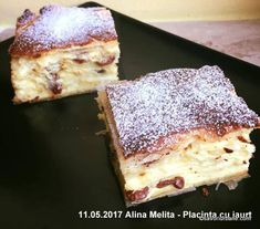 Sweets Recipes, Easy Desserts, Cookie Recipes, Romanian Food, Yummy Food, Tasty, Cake Cookies, Banana Bread, Bacon