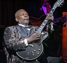 B.B. King - The Associated Press