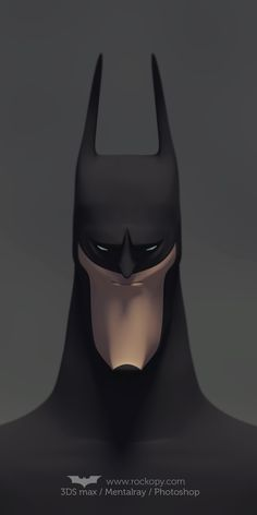 Batman fanart by rockopy demente, via Behance