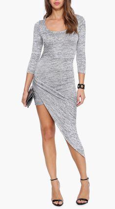 Asymmetrical Dress @scrapwedo