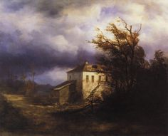 Aleksey Savrasov, Before the Storm