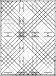 creative haven mosaic tile designs dover publications samples coloring page pinterest dover publications tile design and coloring books