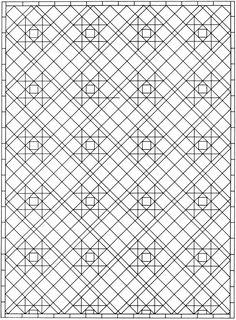 Dover Sampler - Creative Haven Mosaic Tile Designs Coloring Book