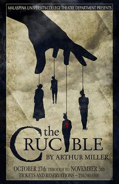 The Crucible by Arthur Miller Compare and Contrast?