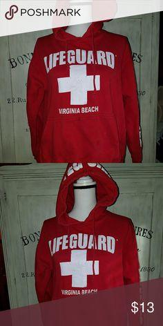 Life Guard sweatshirt Red lifeguard sweatshirt from Virginia Beach Tops Sweatshirts & Hoodies