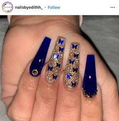 Drip Nails, Bling Acrylic Nails, Glow Nails, Best Acrylic Nails, Long Square Acrylic Nails, Acylic Nails, Nails Design With Rhinestones, Cute Acrylic Nail Designs, Coffin Shape Nails