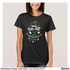 Elf Kostüm Damen T-Shirt Weihnachtsgeschenk Nikolaus Geschenk Idee Weihnachten