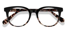 Black Tortoise round eyeglasses available in variety of colors to match any outfit. These stylish full-rim, medium sized acetate eyeglasses include free single-vision prescription lenses, a case and a cleaning cloth. Womens Glasses, Ladies Glasses, Cute Glasses, Round Eyeglasses, Prescription Lenses, Mid Calf Boots, Unisex Fashion, Reading Glasses
