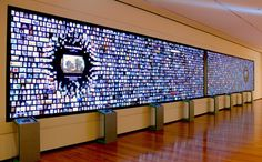 Blending art and technology, the Cleveland Museum of Art& interactive digital signage Collection Wall provides visitors with the ability to curate their own experience. Interactive Exhibition, Interactive Walls, Interactive Display, Interactive Media, Interactive Installation, Interactive Design, Exhibition Space, Digital Signage, Digital Wall