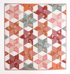 Tutorial - Triangle Quilt Free Pattern