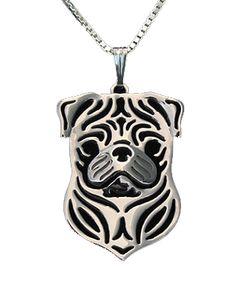 Pug Face Necklace