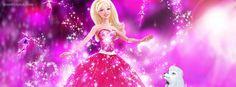 Barbie Princess Facebook Cover CoverLayout.com