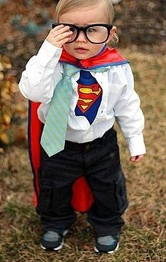 baby clark kent costume | Clark Kent/ Superboy costume :) | Grand Kids and Baby Stuff