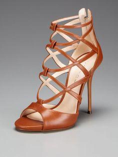 Casadei High Heel Criss Cross Sandal