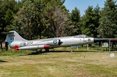 This F-104 Starfighter is preserved at the Andravida Airbases memorial park. We saw her in 2009 during our visit