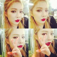 #Hyuna #visual #4MINUTE #selca