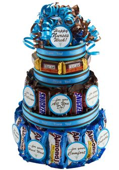 Nurse's Appreciation Week Candy Cake - You Care Packages