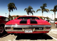 Chevelle SS Under the Palms - Classic Muscle Car