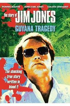 Jim Jones Cult Movie | Story Of Jim Jones - Guyana Tragedy DVD Cover Art