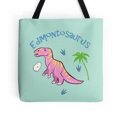 Cute Edmontosaurus Tote bag