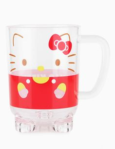 Popular with Hello Kitty fans, this sturdy acrylic mug is super sweet (we think her little feet give the cup extra cuteness!). Use it inside, outside, camping or at the beach.