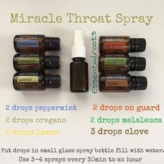 essential oil roller bottle lip gloss tea tree essential oil uses for skin Essential Oil Spray, Essential Oils Guide, Essential Oil Diffuser Blends, Oils For Sore Throat, Doterra Sore Throat Recipe, Essential Oil Sore Throat, Throat Spray, Doterra Essential Oils, Doterra Blends