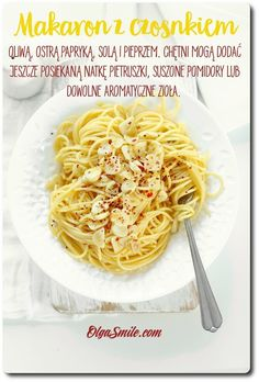 Pasta with garlic