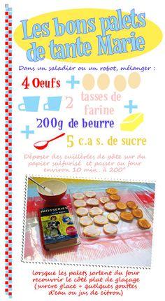 palets de dame - Tambouille.fr
