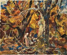 Figures in the Forest, John Edward Costigan. (1888 - 1972)