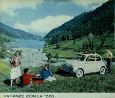 FIAT NUOVA 500 : pubblicità 1959